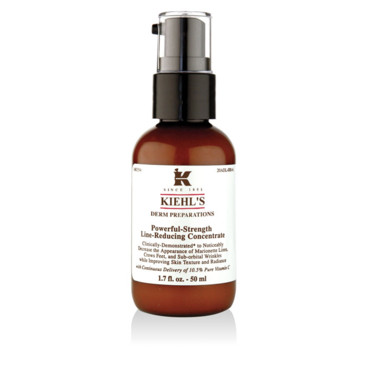 anti-rides Powerful strength line reducing concentrate Kiehl's 55 euros (ex 59)