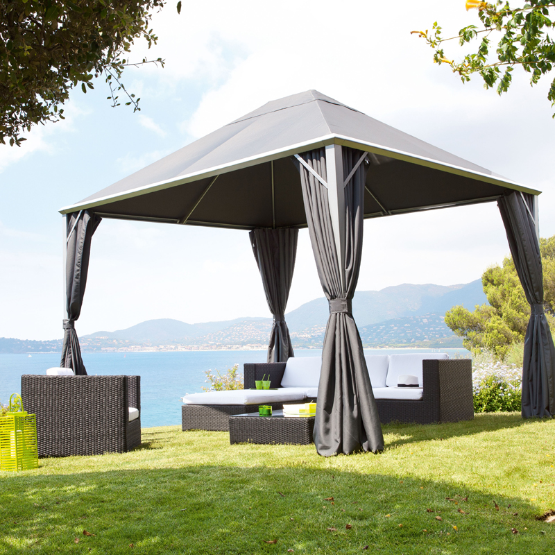 d co t 15 pergolas et tonnelles pour se faire une place au soleil tonnelle orfea. Black Bedroom Furniture Sets. Home Design Ideas