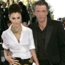 people : Monica Bellucci et Vincent Cassel