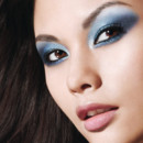 Smoky Eyes : looks Gemey-Maybelline bleu
