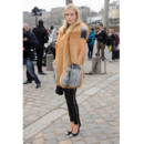 Poppy Delevingne à la Fashion Week parisienne