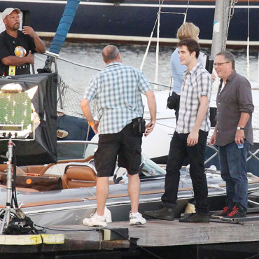 Robert Pattinson dans les coulisses de Twilight 4