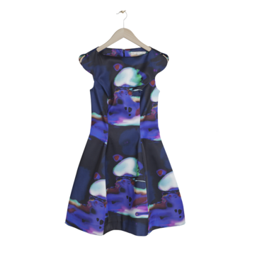 La robe imprimé galaxy &Other Stories, 95 euros
