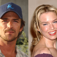 Photo : Luke Perry et Renée Zellweger