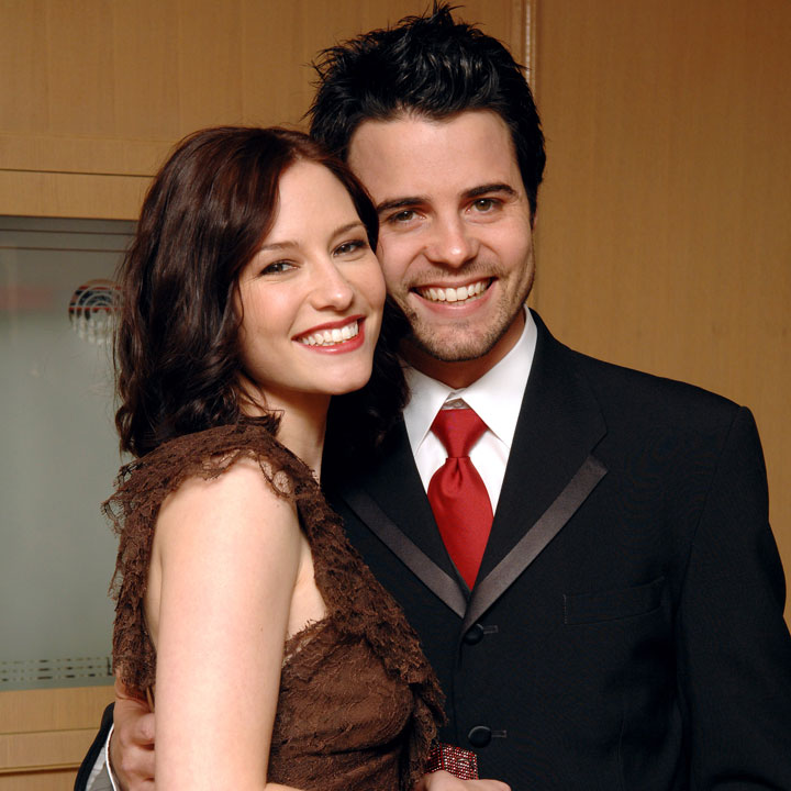 Chyler Leigh with cool, Husband Nathan West