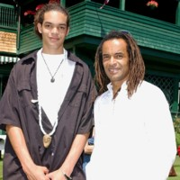 Photo : Joakim Noah et son père Yannick Noah