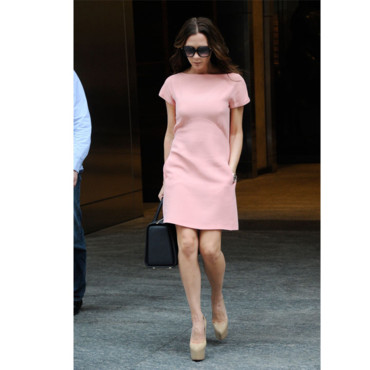 Victoria Beckham à la Fashion Week de NY
