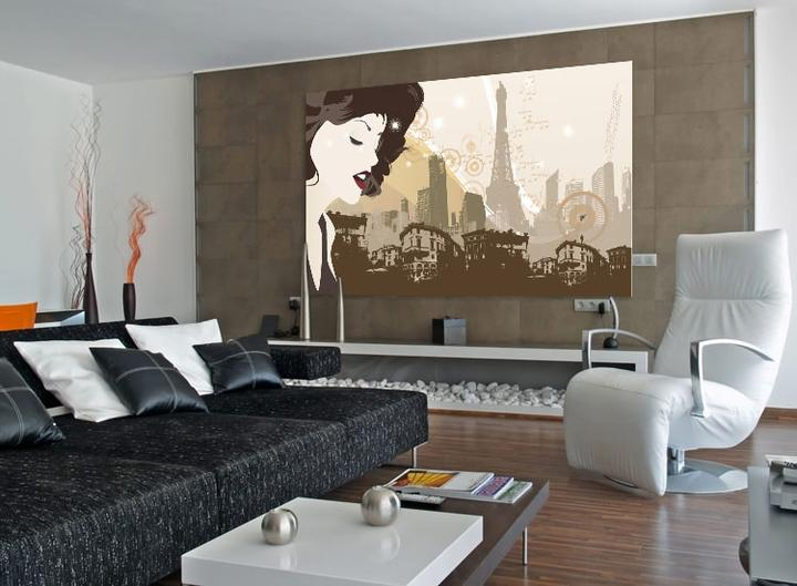 cadre pour salon fabulous un salon arty avec des cadres des miroirs et des cartes postales with. Black Bedroom Furniture Sets. Home Design Ideas