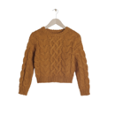 Le pull en maille moutarde &Other Stories, 75 euros