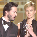 Keanu Reeves et Charlize Theron