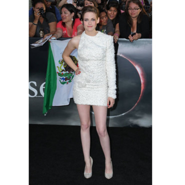 Twilight Eclipse à Los Angeles - Kristen Stewart en Elie Saab