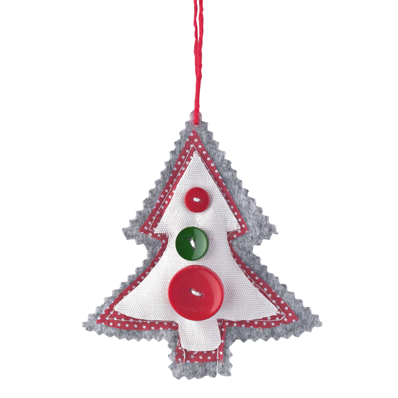 Deco De Noel Un Sapin De Style Chalet Traditionnel Suspension