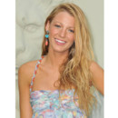 Blake Lively tignasse blonde californienne