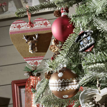 Decoration de noel style chalet - Decoration de noel traditionnel ...