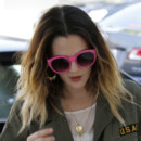 Drew Barrymore cheveux tie and dye