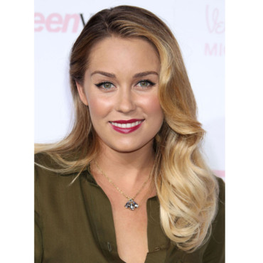 Lauren Conrad cheveux tie and dye