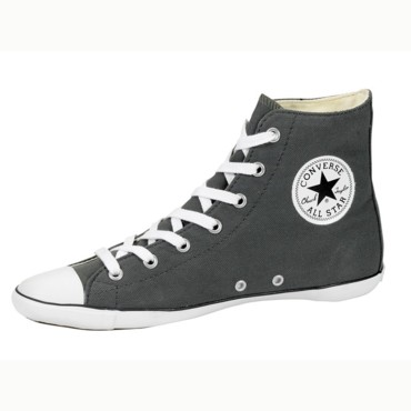 Converse plate couleur gris anthracite 70 €