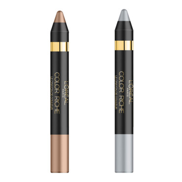 Color Riche Secret silver et Smoky taupe L'Oréal Paris à 10,50 euros