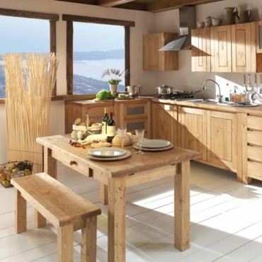 la tendance du bois dans la maison notre s lection la cuisine pur et naturel d co. Black Bedroom Furniture Sets. Home Design Ideas