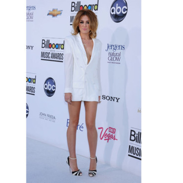 Miley Cyrus en Jean-Paul Gaultier aux Billboard Awards 2012