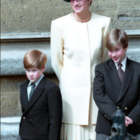 Photo : La princesse Diana, le prince William, le prince Harry