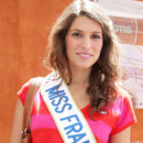 Miss France, Laury Thilleman  Roland Garros