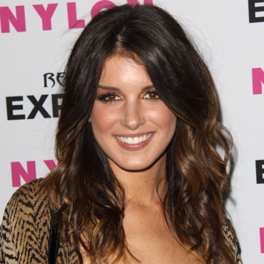 Shenae Grimes cheveux tie and dye