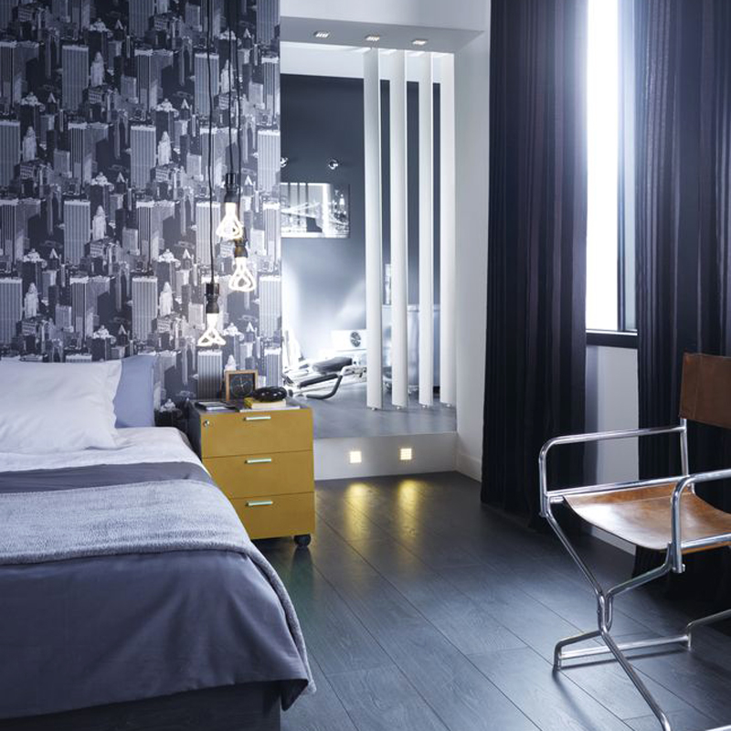de nouvelles ambiances d co canon chez castorama une chambre design d co. Black Bedroom Furniture Sets. Home Design Ideas