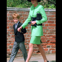 Photo : la princesse Diana et son fils le prince Harry