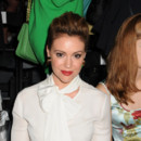 Alyssa Milano le 5 septembre 2013 à la Fasion Week de New York