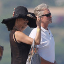 Catherine Zeta-Jones et Michael Douglas à Saint-Tropez