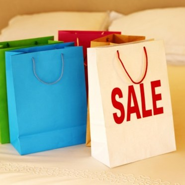 Shopping spécial soldes