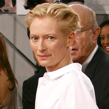 Tilda Swinton aux Golden Globes