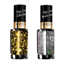 Top coat Gold Leaf et Disco Ball L'Oréal Paris à 5,50 euros l'unité