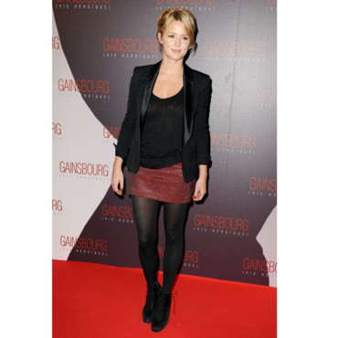 Virginie Efira en mode rock