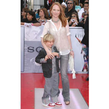 This is it à Los Angeles : Anne Heche était venue rendre hommage à Michael Jackson avec son fils.