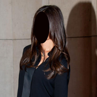 Katie Holmes cheveux longs