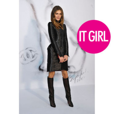Elisa Sednaoui vamp en Chanel it girl