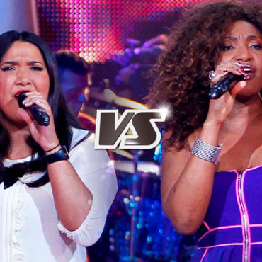 Amalya et Ange Fandoh - Equipe Jenifer - The Voice : la plus belle voix