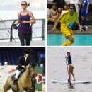 Heidi Klum, Eva Longoria... quand les people se mettent au sport