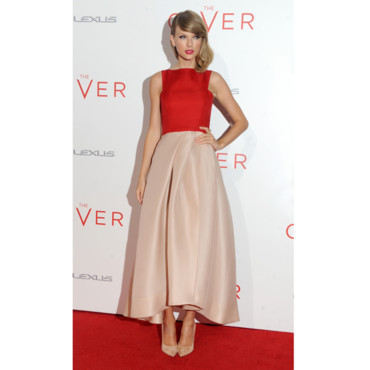 Taylor Swift à la première de The Giver à New York le 11 août 2014