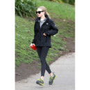 Amanda Seyfried en train de faire son jogging