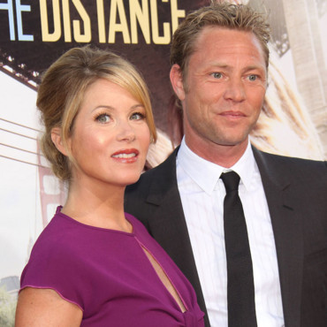 Christina Applegate et Martyn Lenoble