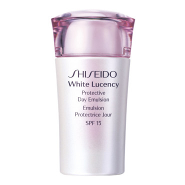 Emulsion protectrice jour Shiseido White Lutency