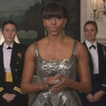 Intervention surprise de Michelle Obama aux Oscars 2013