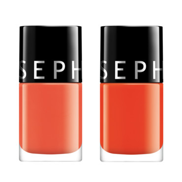 Vernis hit color Sephora Hot & Spicy, et Trick or threat à 4,90 euros
