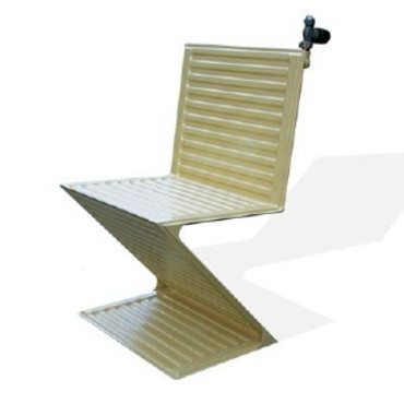 jeroen wesselink cree chaise hot courrier decoration