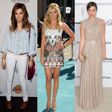 Ashley Tisdale : High School Fashion