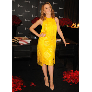 Kylie Minogue en Stella McCartney en novembre 2012