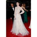 Lily Collins en Valentino Couture